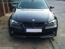 BMW E90 E91 05-08 Front Bumper spoiler flaps elerons addon for SE bumper aero