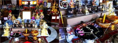 Thai Amulet Phra LP Pern Tiger Head Authentic Talisman Bracelet Protect Luck