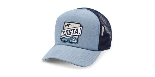 260593967503 Costa Del Mar Shield Mesh Trucker Hat Ha25 Spring Green for sale online |  eBay