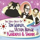 The Very Best of Tom Lehrer, Victor Borge and Flanders & Swann by Flanders & Swann/Tom Lehrer/Victor Borge (CD, Jul-2012, 3 Discs, Memory Lane)