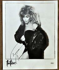 Original Tina Turner Hand Signed Photo
