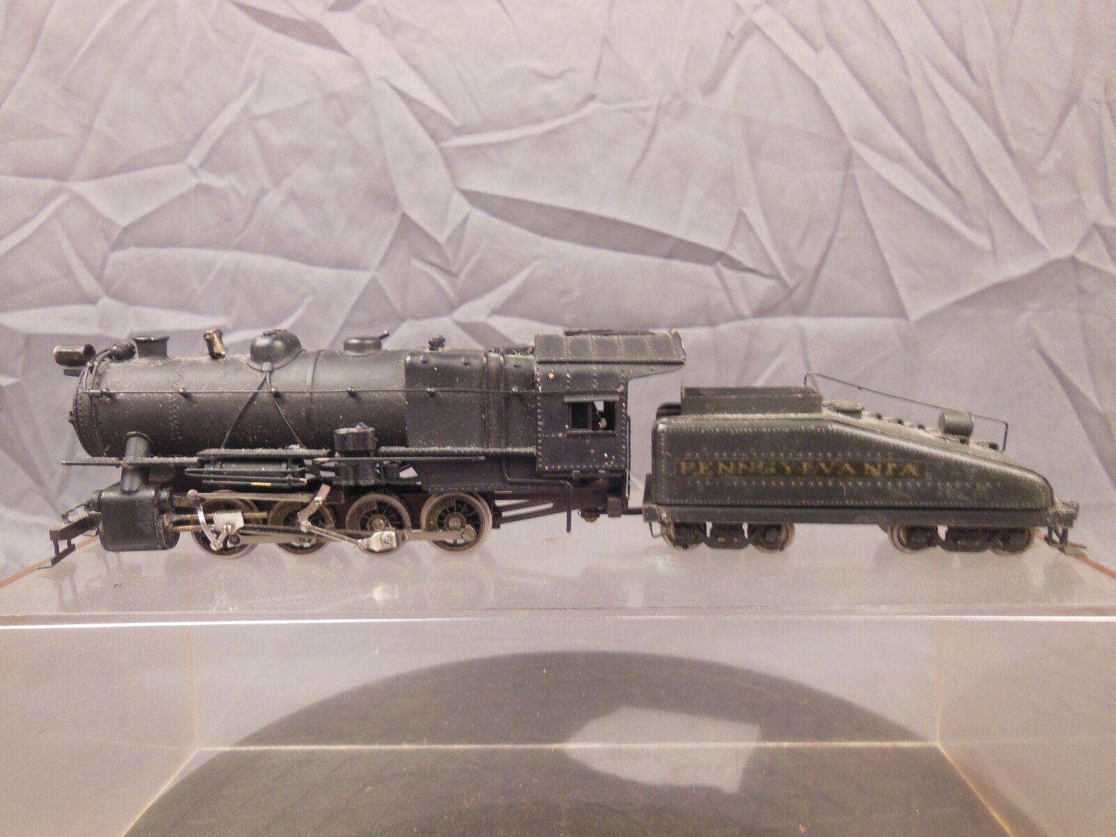 Escala HO locomotora latón LMB Modelos Pennsylvania 0-8-0 para reparación