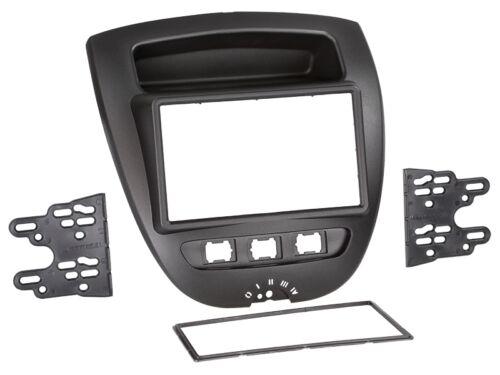 p Citroen c1 05-14 2-din radio del coche Kit de integracion adaptador cable radio diafragma