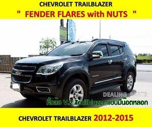 FENDER-FLARES-WITH-STAINLESS-NUTS-V-2-FOR-CHEVROLET-TRAILBLAZER-2012-2015