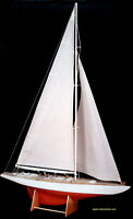 Beautiful, Brand Amati Wooden Model Ship Kit: The rainbow -1934-