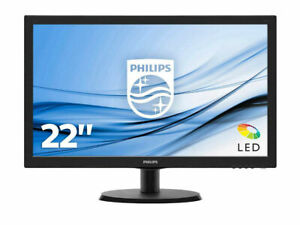 Monitor 22'' LCD TFT Philips 223V5LHSB2 LED Full HD 1920X1080 5ms HDMI VGA