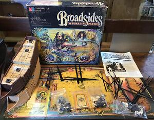 Milton-Bradley Gamemaster Series Broadsides & Boarding Parties Game KM