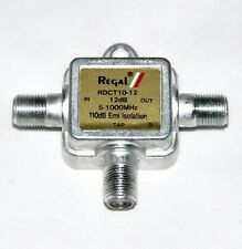 Nsop Regal Rdct10-12 Directional Coupler 12 DB 5-1000 MHz Cable/antenna  Splitter