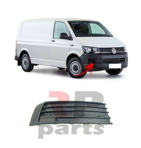 Para VW Transporter//Multivan 15-19 nuevo parachoques delantero lado Rejilla Negro Derecho O//S