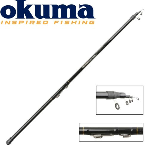 Okuma G-Force TeleReglable 485cm 10-20g Forellenrute Teleskopische Angelrute