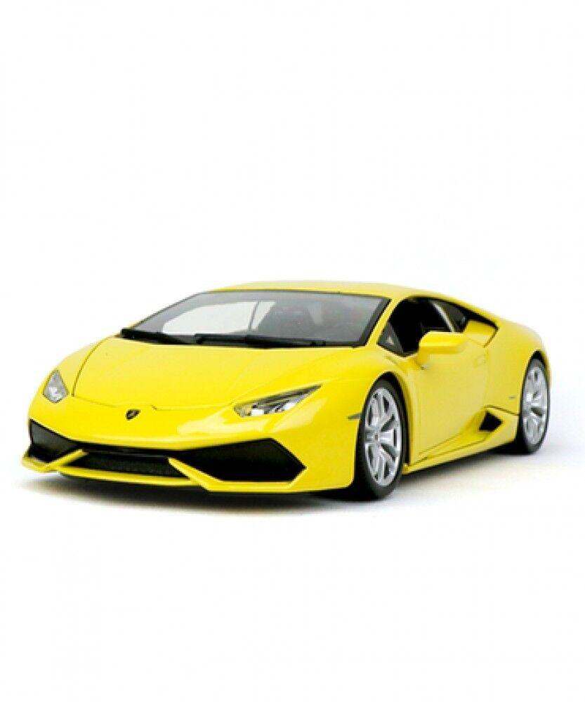 Nouveau blago échelle 1 18 Lamborghini urakan LP-610-4 Pearl Jaune Voiture Modèle Japon