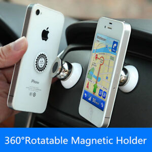 3a025514b11 New Sale 360 Degree Universal Car Phone Holder Stand Magnetic Mount ...