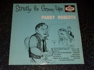 33-Upm-25-cm-Paddy-Roberts-Strictly-For-Grow-Ups-1959