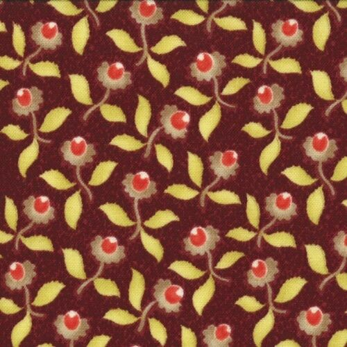 Moda Fabric ~ Tapestry   ~ Fig Tree Quilts ~ Yasmin Garnet #20192 11