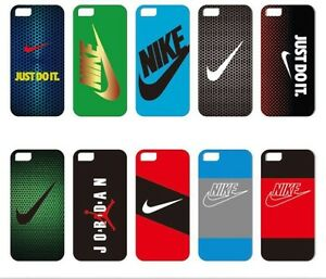 big sale 35a05 2e726 Details about New NIKE OFFICIAL SOFT CASE IPHONE 5/5S/SE & 6/6S & 7