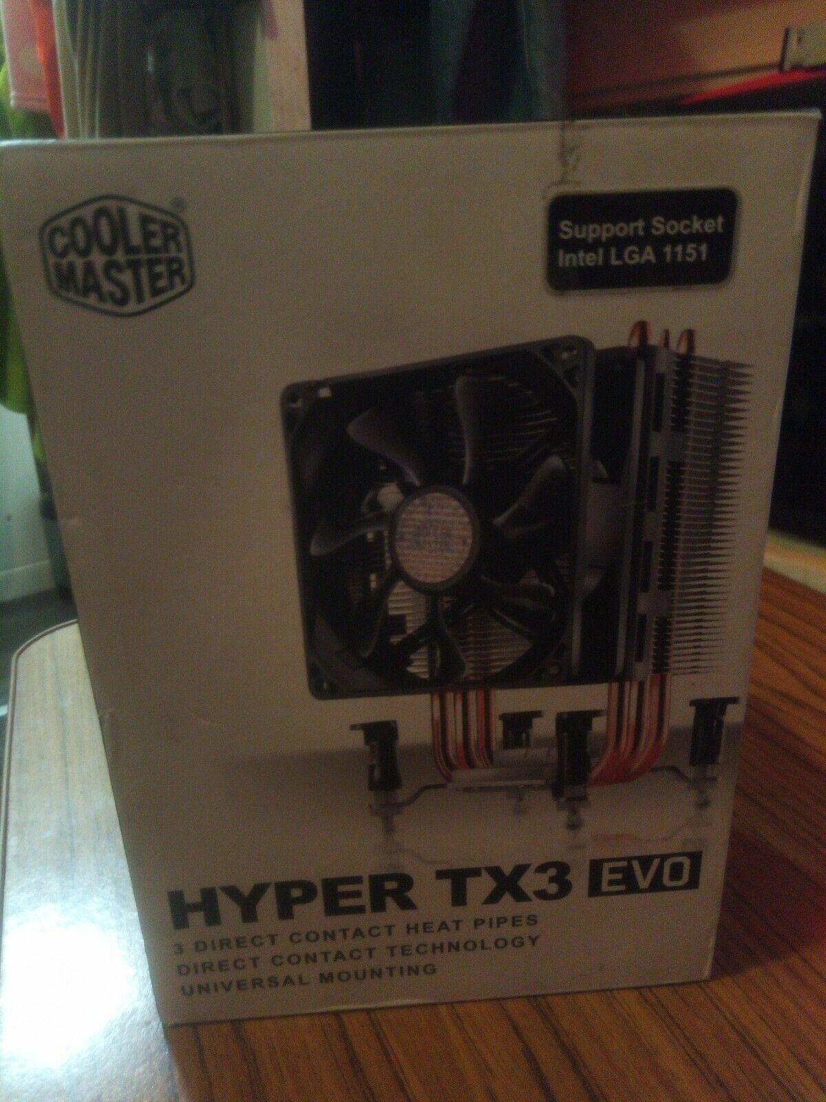 Cooler Master Hyper TX3 EVO Cooling Fan Heatsink