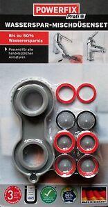 Armaturen Wasserspar Set Ersatz Mischdüsen Set Perlator Mischdüse M24x1 M22x1 ZuverläSsige Leistung Armaturen Wasser