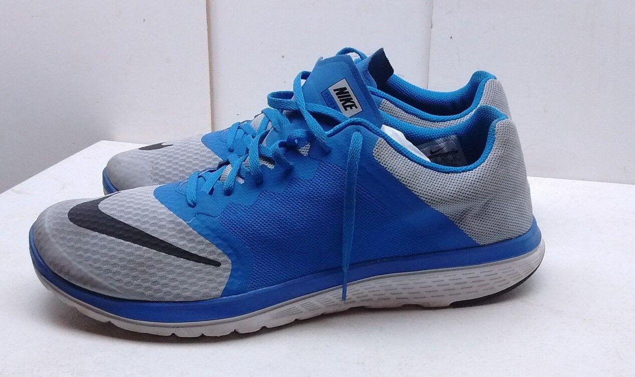 Nike FS Lite Run 3 Minimalist Men's bluee Mesh Athletic Sneaker Running shoes 14M
