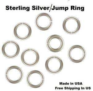 16-Ga-Heavy-Sterling-Silver-Jump-Ring-SAW-CUT-Choose-Size-amp-Quantity