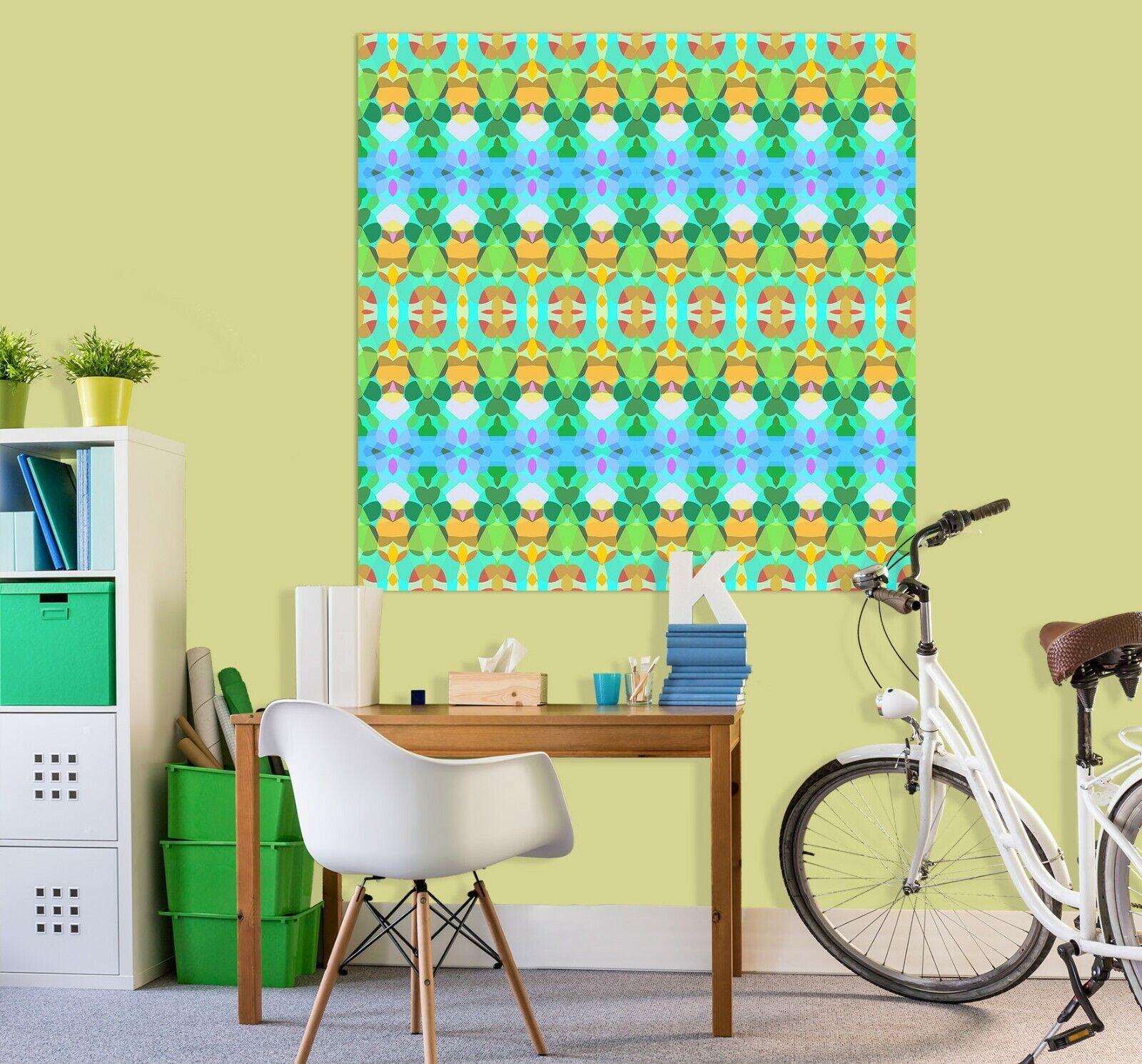 3D Grün Leaves ZHU413 Wall Stickers Wall Murals Wallpaper Shandra Smith Amy