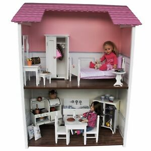 Image Is Loading Story Doll Town House For 18 Inch American