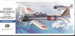 Hasegawa-Mitsubishi-A6M2b-Zero-Luchador-Zeke-Tipo-21-In-1-72-00451-St