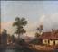 miniatuur 10 - Josef PFEIFFER Très Belle Huile Toile Paysage TYROL AUTRICHE 1862