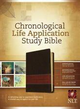 NLT Chronological Life Application Study Bible, Leatherlike Brown/Tan