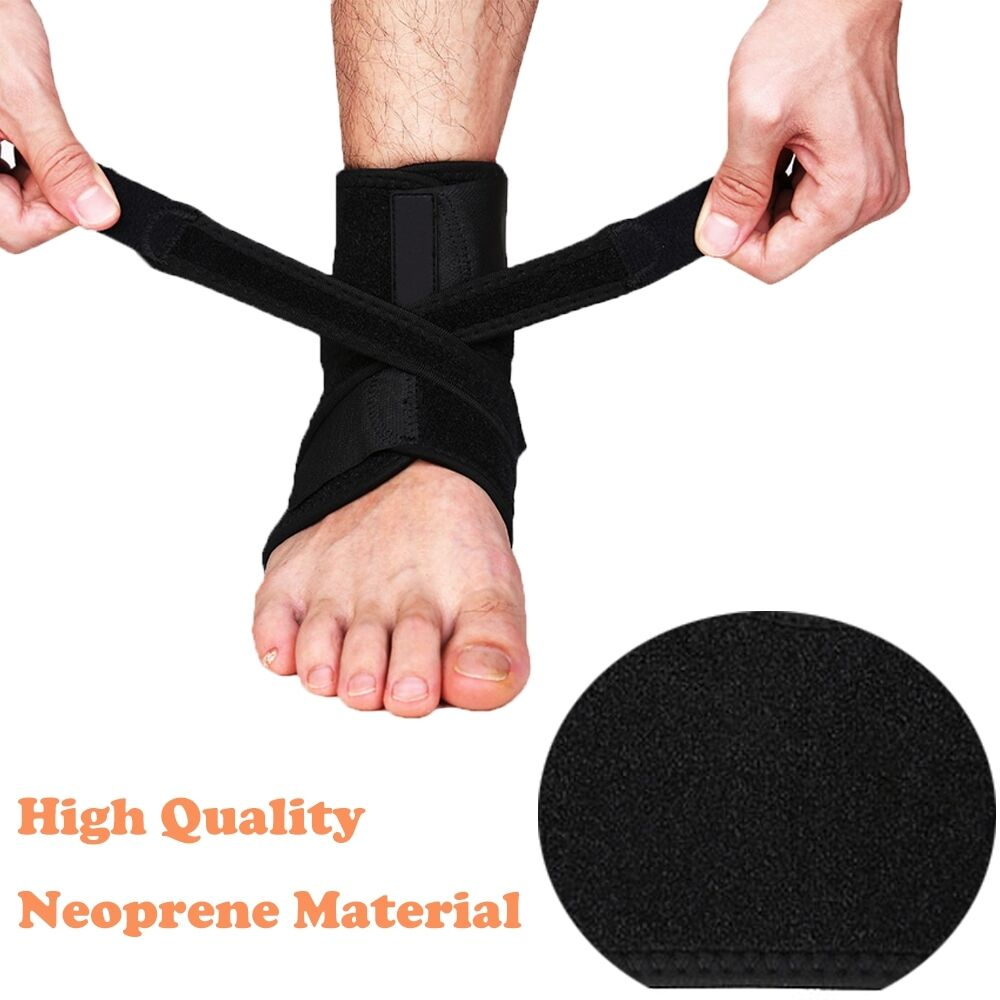 Ankle Brace Ankle Support Socking Compression Sport Injury Protective Guard US D 3