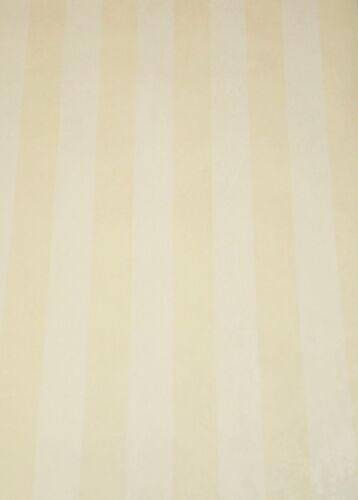 Vintage Satin Wide Soft Yellow /& Cream Stripes by International 154059