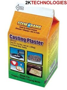 Woodland Scenics SP4141 Casting Plaster 2 x 226gm Packs Tracked 48 Post
