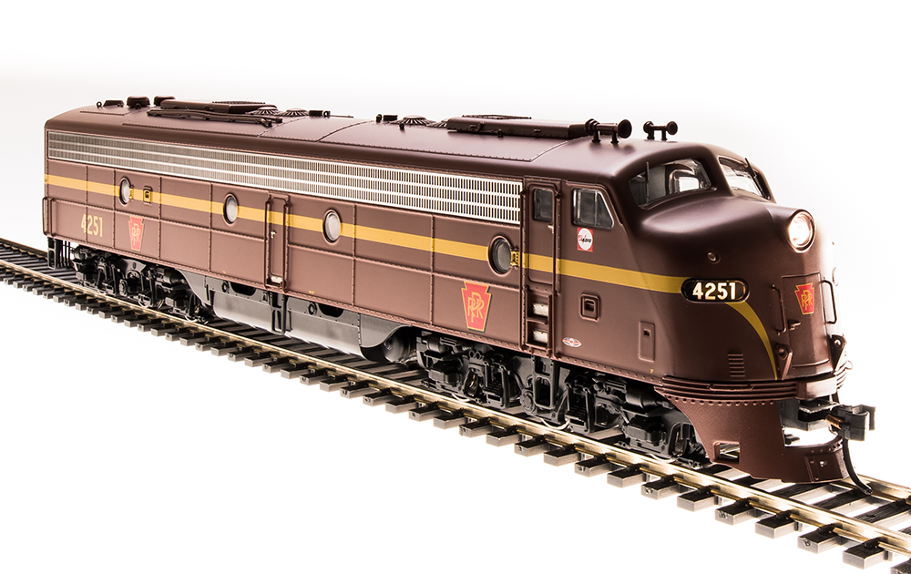 Broadway Limited 5436 EMD E8 A-unit, PRR  4261, Tuscan rosso, Single Stripe