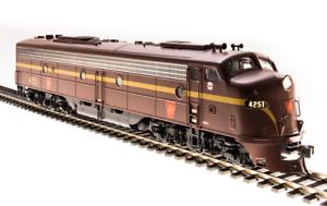 Broadway Limited 5436 EMD E8 A-unit, PRR Tuscan Red, Single Stripe