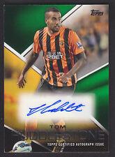 Topps Premier Gold 2014 - Autograph Card - Tom Huddlestone - Hull - Green 89/99