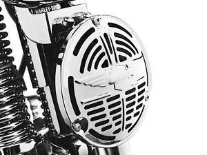 Harley-Davidson-Springer-Neuf-OEM-Veritable-Complet-Chrome-Klaxon-Kit-69036-88A