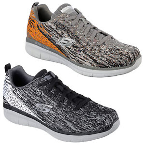super popular 9d7a1 e3a15 ... Skechers-Synergy-2-0-Baskets-Hommes-Mousse-a-