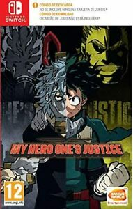 My Hero: One's Justice (Code In A Box Switch) - Nintendo Switch - Nuevo