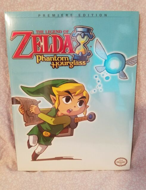 The Legend of Zelda Phantom Hourglass  Players Game Guide Nintendo Premiere Ed.