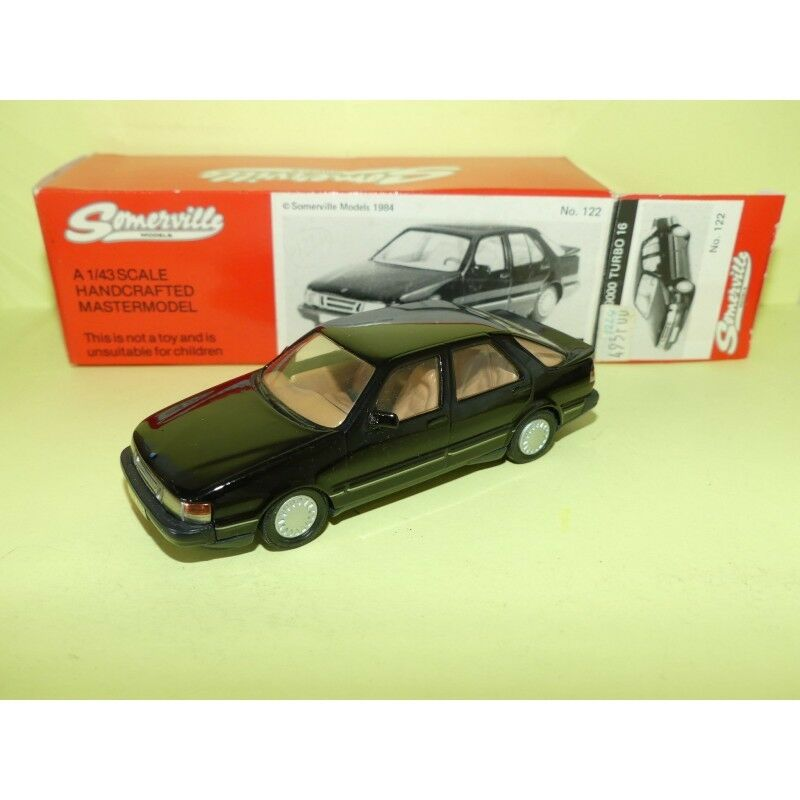Saab 9000 Turbo 16 nero Modelo Somerville 122 1 43