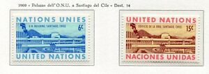 19088-UNITED-NATIONS-New-York-1969-MNH-UNO-in-Chile