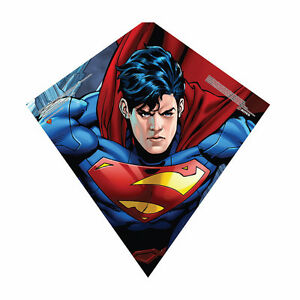 X-KITES-23-034-Tall-SKYDIAMOND-Poly-Diamond-KITE-Assembles-In-Seconds-SUPERMAN-New