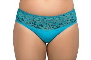 100% De Qualité Femmes Taille 26-28 Createur Bikini Slips Culotte Luxe Slips Bleu-afficher Le Titre D'origine Soulager Le Rhumatisme Et Le Froid