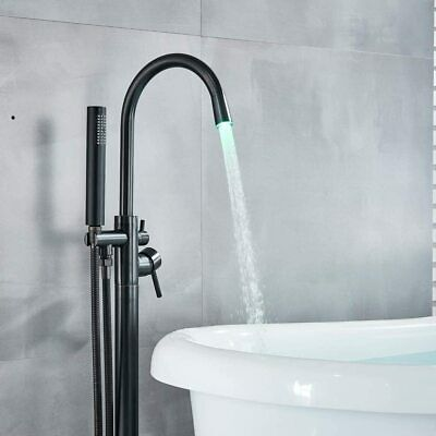 Bathtub Faucet Free Standing Filler Tub With Handheld Shower Oil Rubbed Bronze