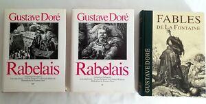 Gargantua Pantagruel - Les Fables de la Fontaine - Gustave Doré.