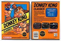 Donkey Kong Classics - Nintendo Nes Custom Case - No Game