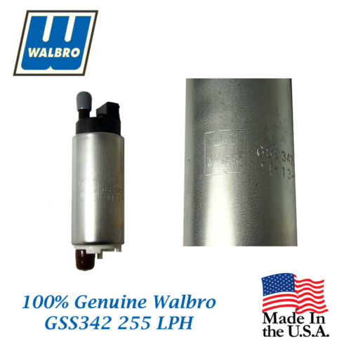 New Walbro High Performance 255 LPH Fuel Pump will fit Mitsubishi GSS342