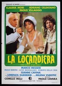 M141 Manifesto 2F Die Wirtin Adriano Celentano Claudia Mori Paolo Dorf