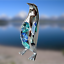 Crystocraft-Penguin-Crystal-Ornament-With-Swarovski-Elements-Gift-Boxed-Blue thumbnail 7