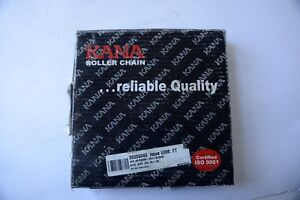 Details about KANA ROLLER CHAIN 08B-2 X 10 X 10' 240 LINKS NEW IN BOX
