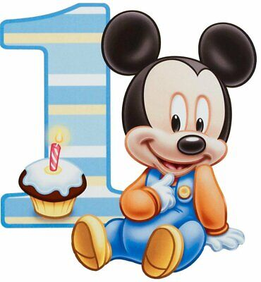 BABY MICKEY MOUSE baby shower or birthday party edible cake image topper sheet